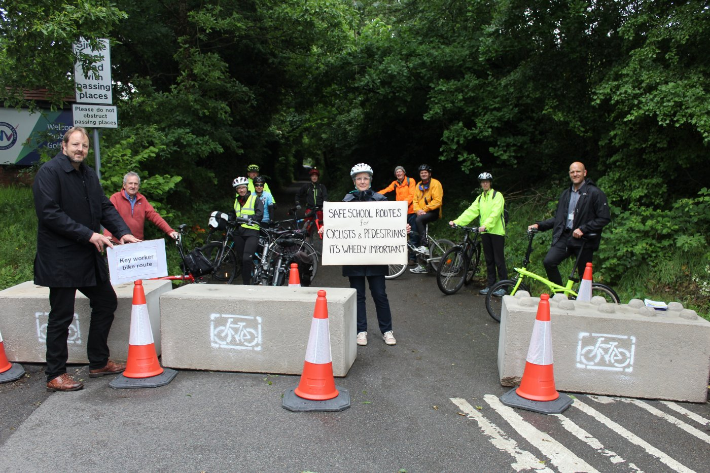Crow Lane Closure Improves Cycling for Chesterfield Royal Hospital Staff