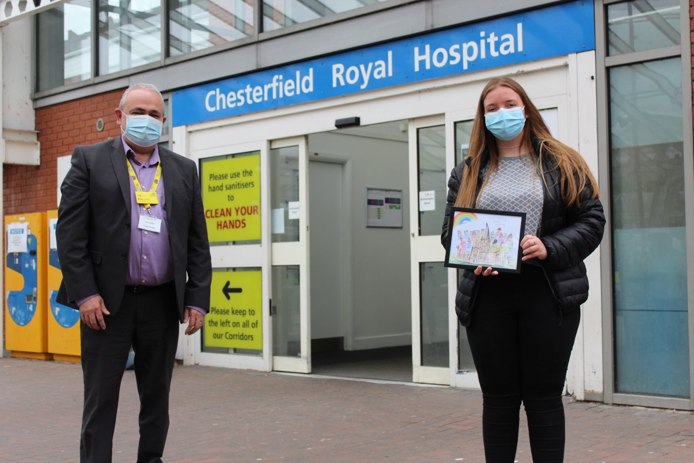 Teenage Artist Raises £2,150 to #ProtectYourNHS