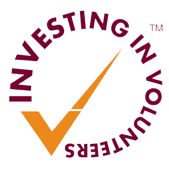 Investing in volunteering logo