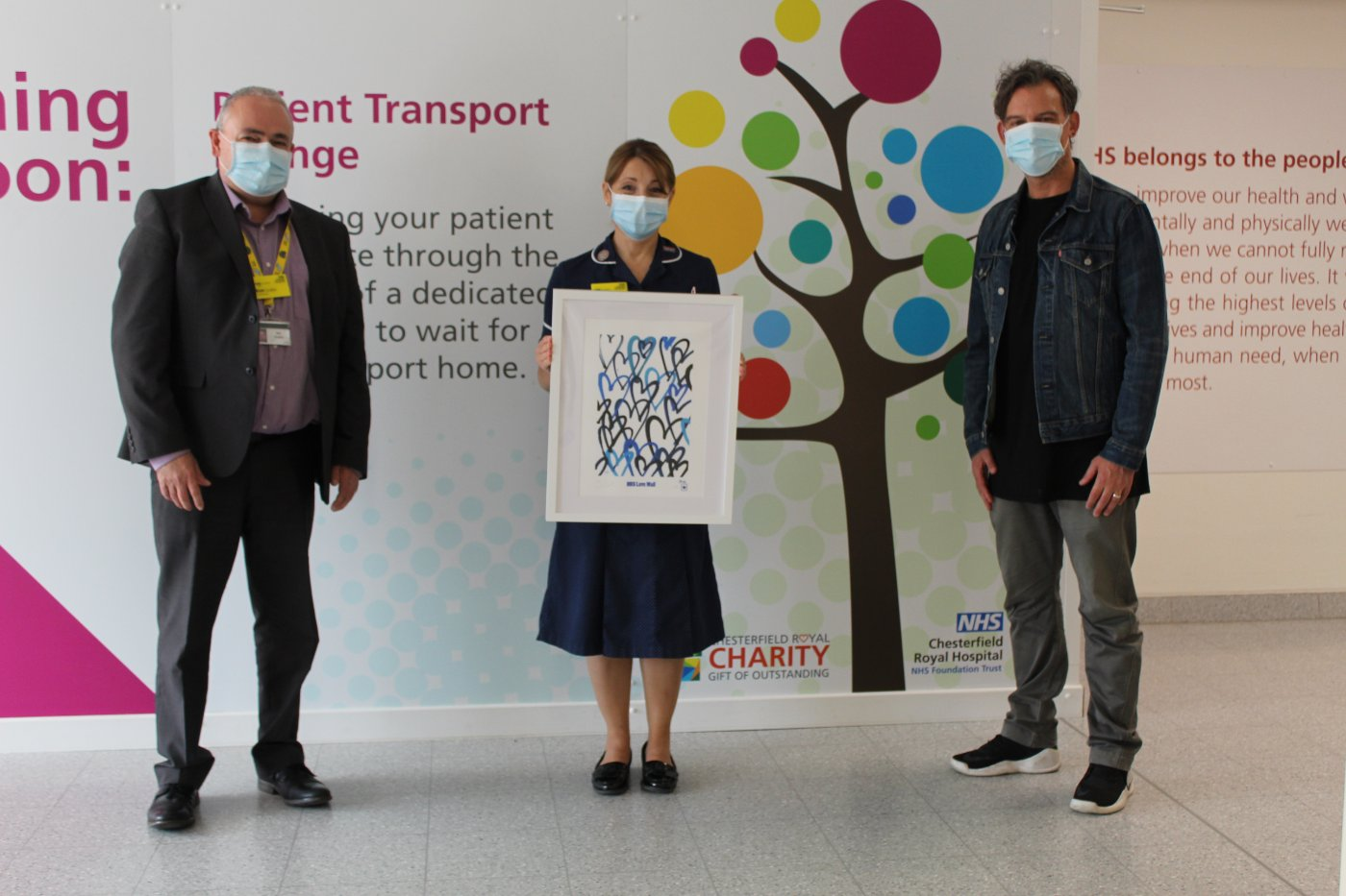 NHS Love Wall Raises Spirits and Money for #ProtectYourNHS